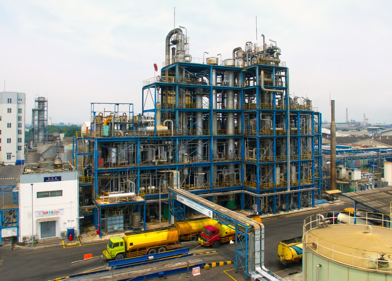 GAR's oleochemical plant in Medan is RSPO-certified.