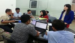 GAR meeting suppliers in Medan