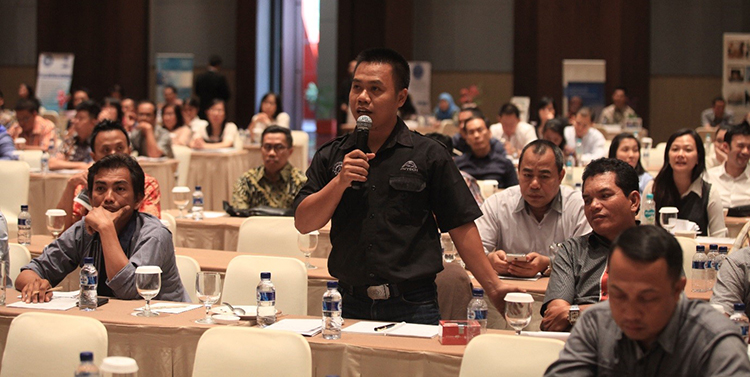 Around 70 suppliers attended GAR's SMART SEED workshop in Medan in September