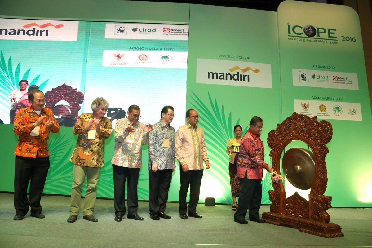 Coordinating Minister for Economic Affairs Dr. Darmin Nasution officiating at the ICOPE 2016 opening ceremony