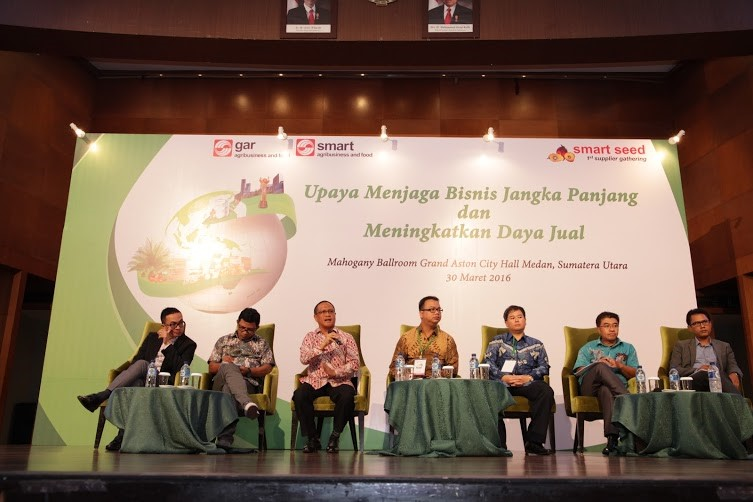 A panel discussion with multiple stakeholders