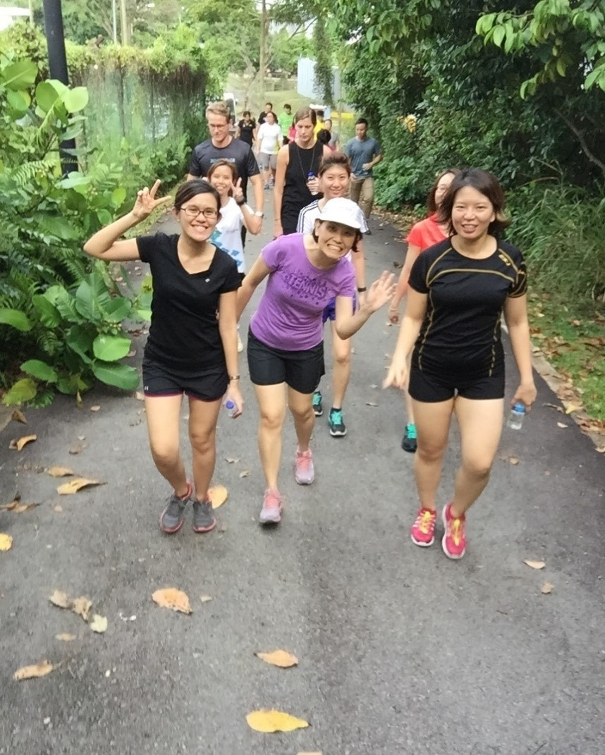 The HortPark Walk – one of our outdoor activities