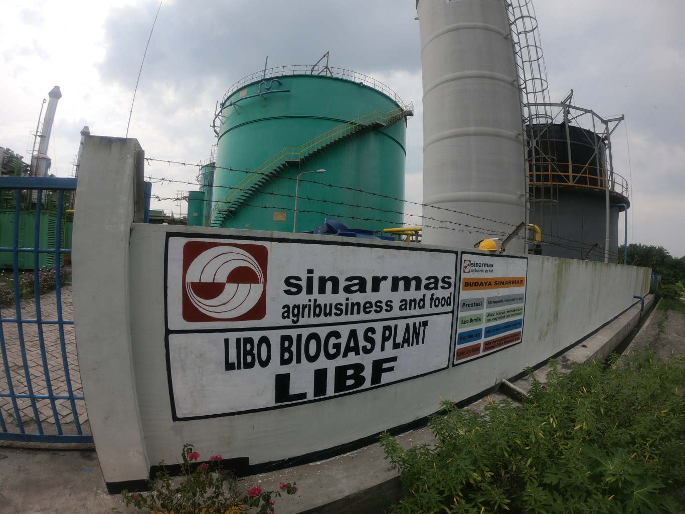 Harnessing biogas in palm oil production - Golden Agri-Resources
